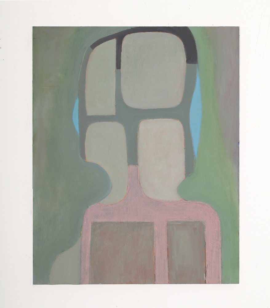 """Belgium Painting 6, (from series Inside of an Outside) oil on linen on wood, 20"""" x 16"""", 2014"""
