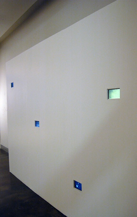Apophenia, 4 monitors with single channel videos, 2010
