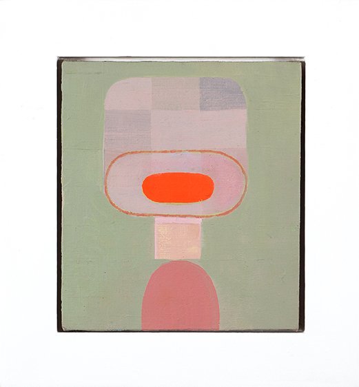 """untitled small painting 1, oil on linen, 8"""" x 6"""", 2011"""